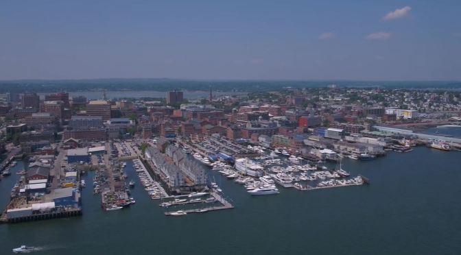 City Views: 'Portland – Maine' (4K Video)