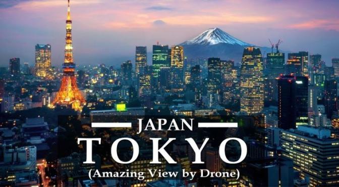 Aerial Skyline Views: 'Tokyo – Japan' (Video)