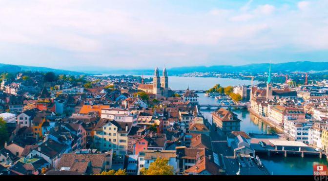 Aerial Views: 'Zurich – Switzerland' (4K Video)