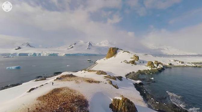 Travel Tour: 'Antarctica In 360° Panorama' (5K Video)