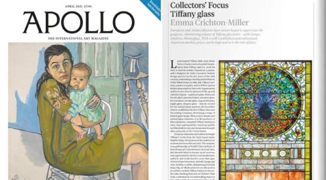 INTERNATIONAL ART: 'APOLLO MAGAZINE – APRIL 2021'