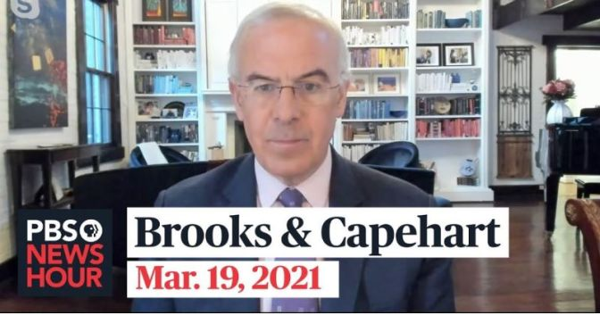 Political News: 'Brooks & Capehart' On Republican Reluctance To Vaccinate