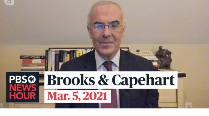 Political News: 'Brooks & Capehart' On Covid Relief Bill, Texas Opening Up