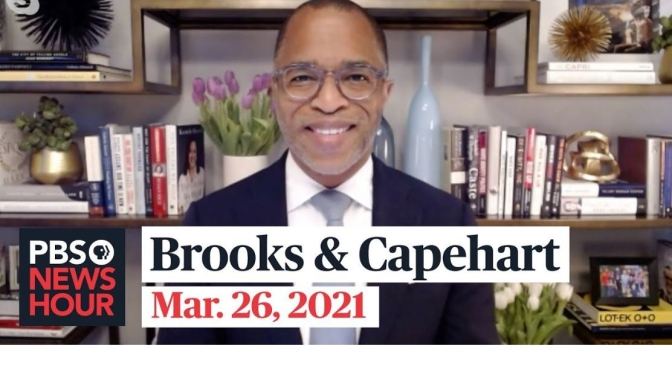 Political News: 'Brooks & Capehart' On State Voting Rights & Gun Legislation