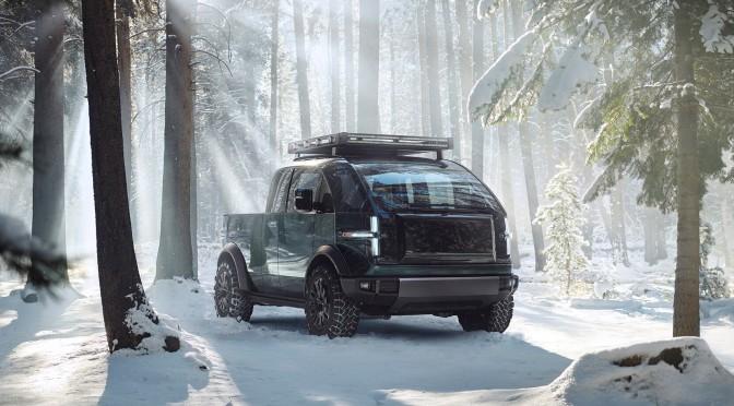 Electric Vehicles: Canoo Debuts 2023 Pickup Truck