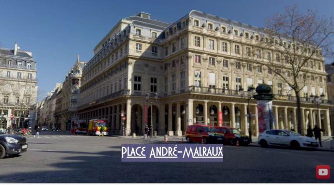 Winter Walks: Central Paris In March 2021 (Video)