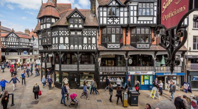 Walking Tours: 'Chester' – Northwest England (4K)