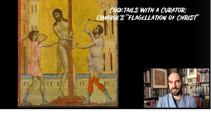 "Cocktails With A Curator: Cimabue's ""Flagellation of Christ"" (Frick Video)"