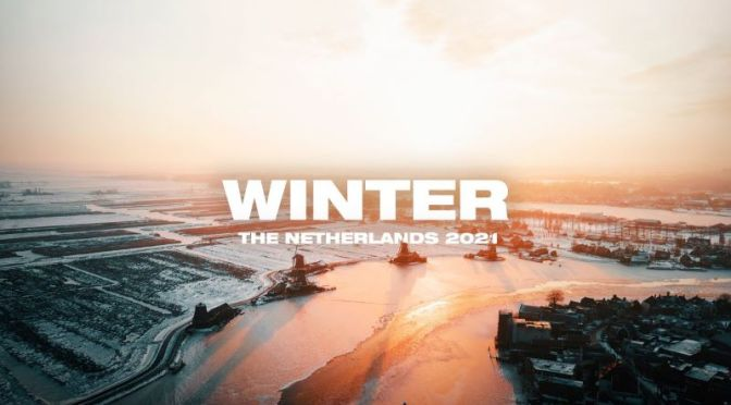 Aerial Views: 'Winter In The Netherlands' (Video)
