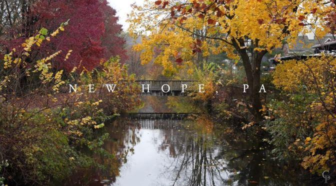 Small Town Views: 'New Hope – Pennsylvania' (4K)