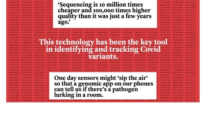Biotechnology: 'Genome Sequencing – Unlocking The Covid Code' (NY Times)