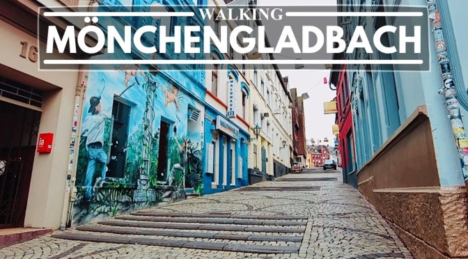City Walks In Germany: 'Mönchengladbach'