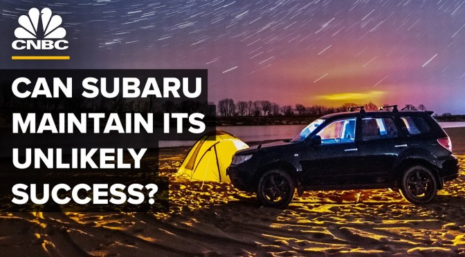 Reviews: 'Can Subaru Hold On To Its Recent Success?'