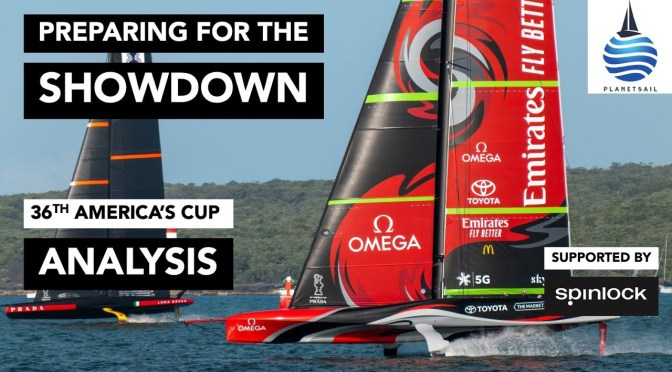 36th America's Cup Final: Emirates New Zealand vs Luna Rossa Italy (Video)