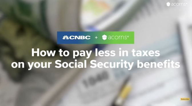 Retirement: Paying Less Taxes On Social Security