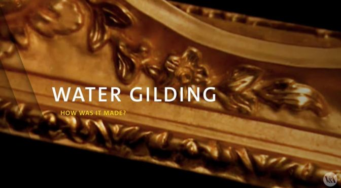 The Arts: 'Water Gilding – How It Is Done' (V&A Video)