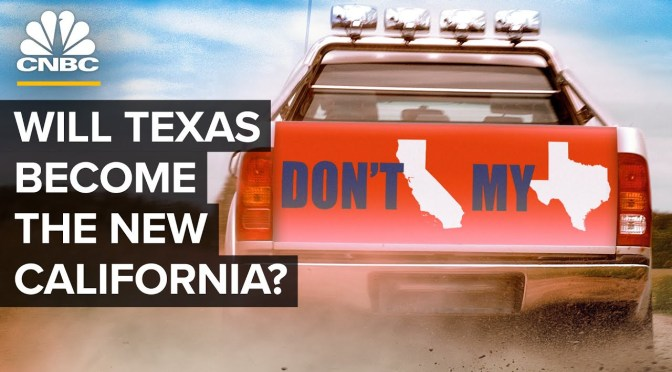 Analysis: Is Texas Now The New California? (Video)