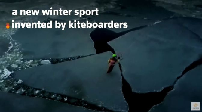 Views: 'Kiteskating' – A New Winter Sport In Latvia