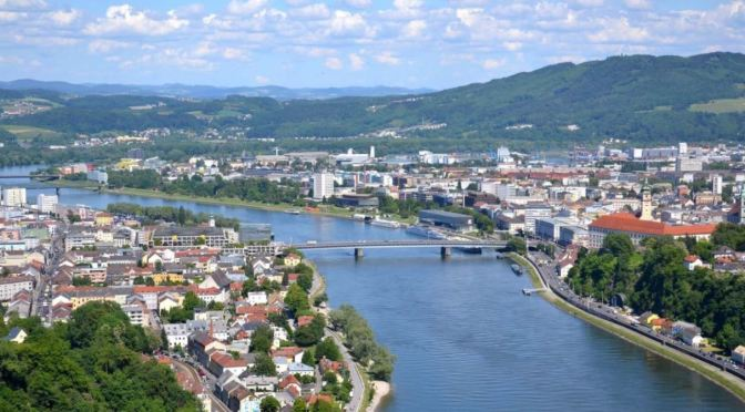 Aerial City Views: 'Linz – Northern Austria' (4K)
