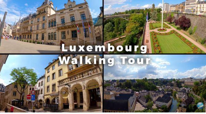 Walks: 'Luxembourg City'