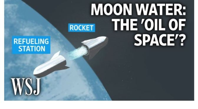 Space Travel: NASA Seeks Water On The Moon To Fuel Missions (WSJ Video)