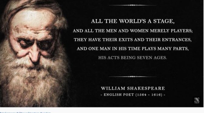 World's Greatest Quotes: 'The Seven Ages Of Man' – William Shakespeare (1599)