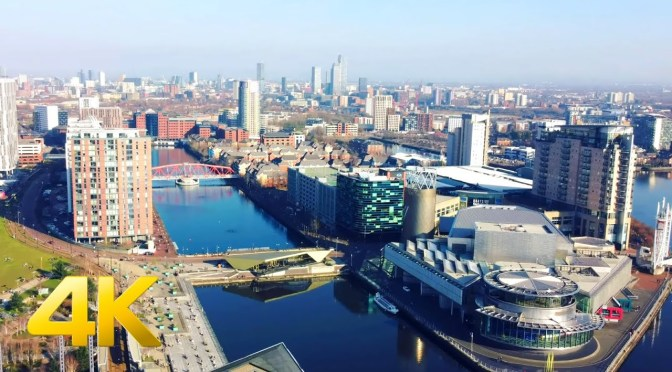 City Views: 'Salford Quays – Greater Manchester, UK'