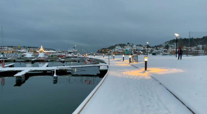 Winter Walks: 'Sandefjord – Norway' (4K HDR Video)