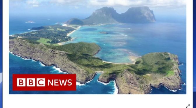 Cloud Forests: Lord Howe Island, Australia (Video)