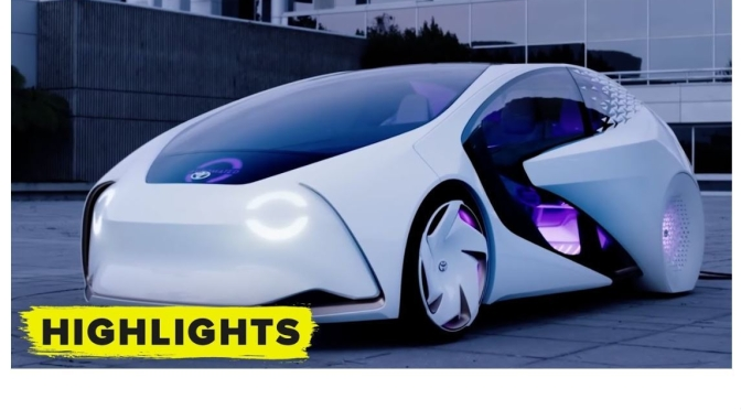Future Transportation: Top 'Self-Driving Concept Cars' Of 2021 (Video)