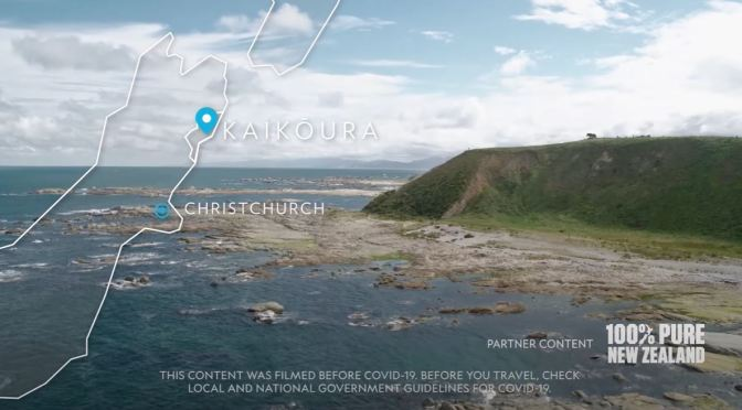 Travel Tour: 'Kaikōura – New Zealand' (Video)