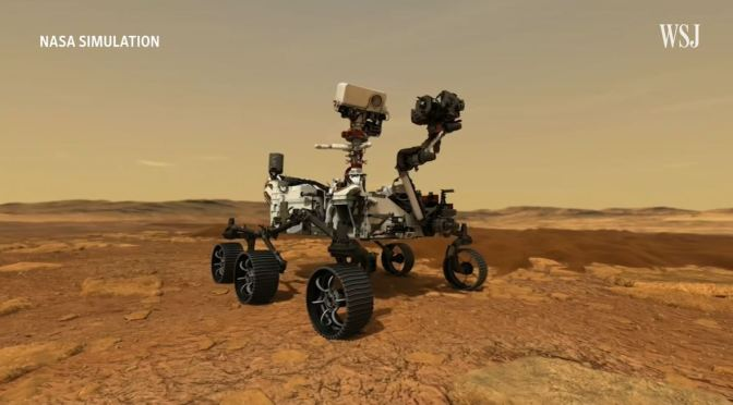 Space Missions: How Mars Rover Searches For Life