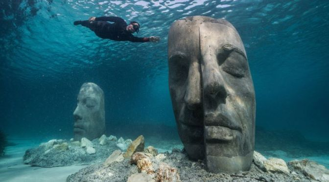 The Arts: 'The Underwater Museum Of Cannes' (Video)