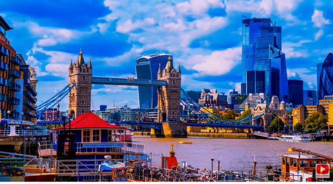Aerial Views: 'The UK – England, Scotland & Northern Ireland' (8K)