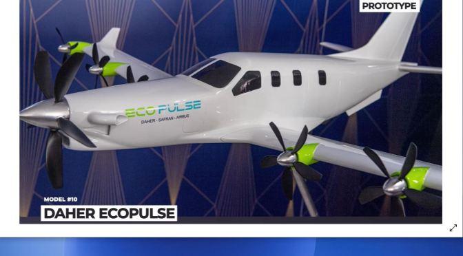 Aviation: 'Top Ten New Planes Of 2021 & Beyond'