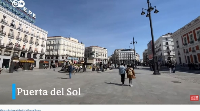 Travel Guides: 'Madrid – Capital Of Spain' (Video)