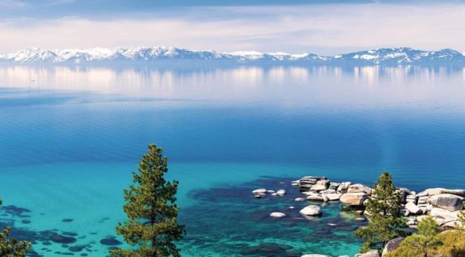 Views: 'Lake Tahoe – California & Nevada' (4K)
