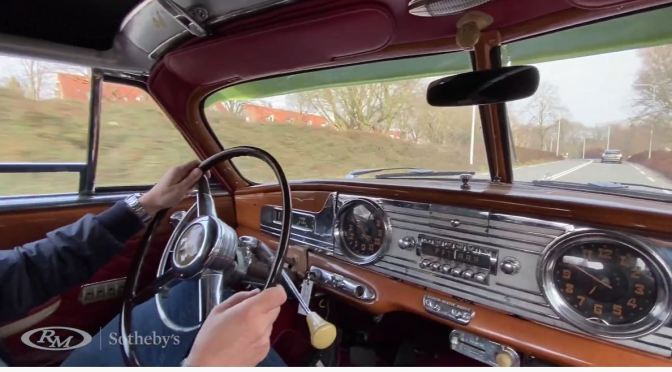Views: A '1950 Hudson Commodore Eight Convertible Brougham'