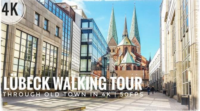 Walking Tour: 'Lübeck – Northern Germany' (4K)