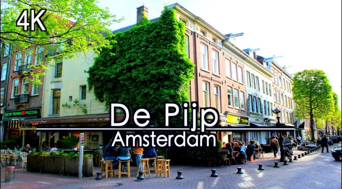 Walks: 'De Pijp, Amsterdam, Netherlands' (4K Video)