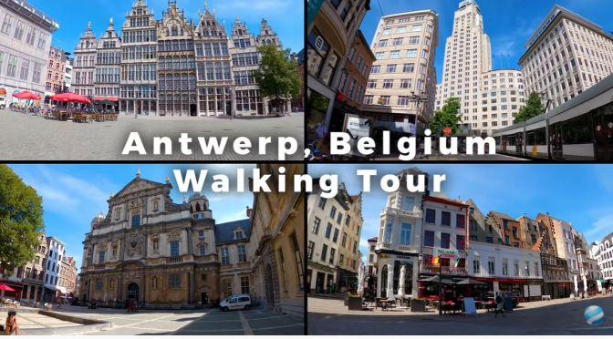 Walking Tours: 'Antwerp – Northern Belgium' (Video)