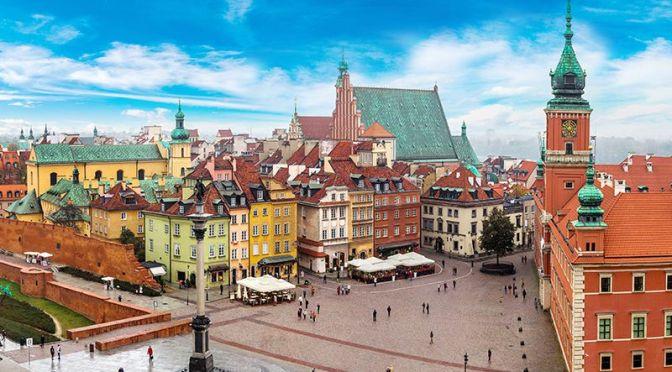 Aerial Views: 'Warsaw – Poland' (4K Video)