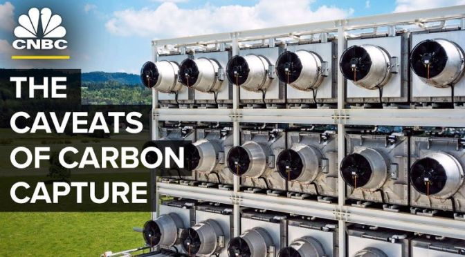 Climate Change: The Challenges For Carbon Capture Technologies