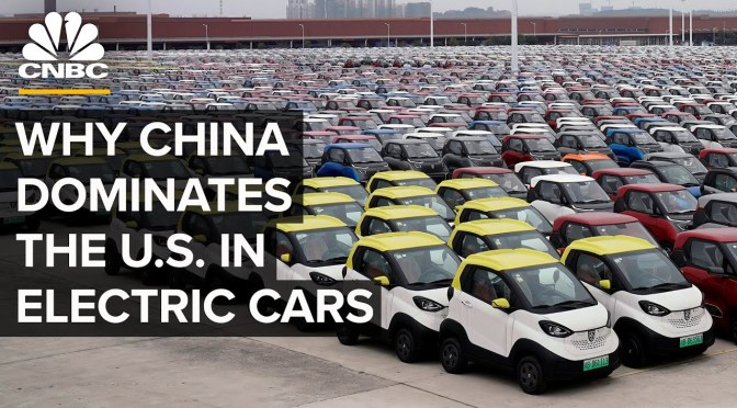 Analysis: Why China Is Dominating The U.S. In Electric Cars (Video)