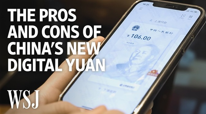 Analysis: 'China's Digital Currency Concerns' (WSJ)