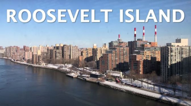 Winter Walks: 'Roosevelt Island, New York' (Video)