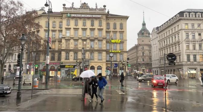 Winter Walks: 'Central Vienna – Austria' (4K Video)