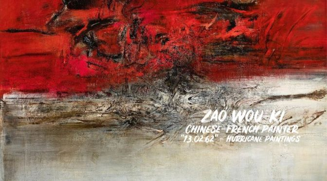 Art: 'Hurricane Paintings' Of Chinese-French Painter Zao Wou-Ki (1921 – 2013)