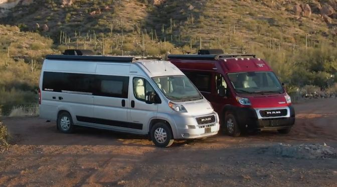 Top New Camper Vans: 2022 Winnebago Travato 59KL