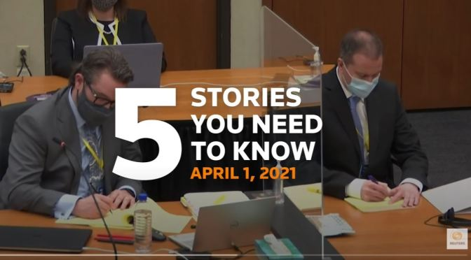 News: Top Stories –  April 1